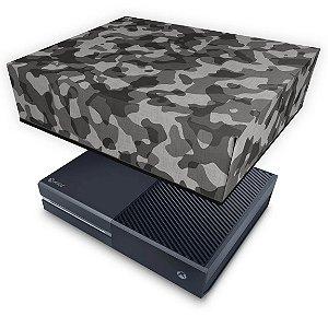 Xbox One Fat Capa Anti Poeira - Camuflagem Cinza