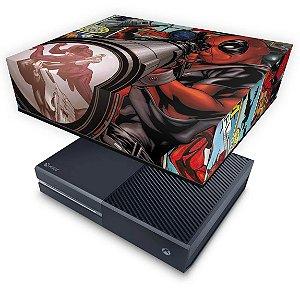 Xbox One Fat Capa Anti Poeira - Deadpool