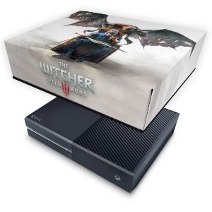 Xbox One Fat Capa Anti Poeira - The Witcher 3 Blood And Wine