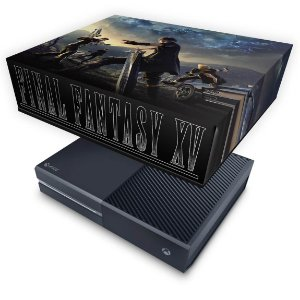 Xbox One Fat Capa Anti Poeira - Final Fantasy XV #B