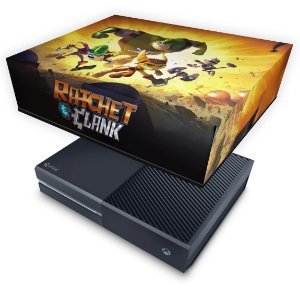 Xbox One Fat Capa Anti Poeira - Ratchet and Clank