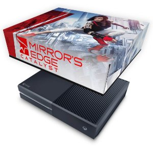 Xbox One Fat Capa Anti Poeira - Mirror's Edge Catalyst
