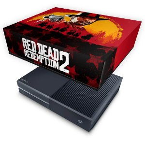 Xbox One Fat Capa Anti Poeira - Red Dead Redemption 2