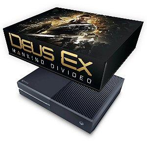 Xbox One Fat Capa Anti Poeira - Deus Ex: Mankind Divided