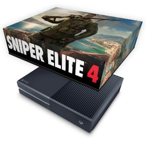 Xbox One Fat Capa Anti Poeira - Sniper Elite 4