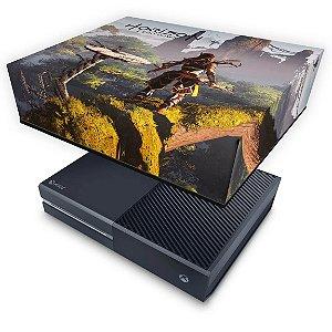 Xbox One Fat Capa Anti Poeira - Horizon Zero Dawn