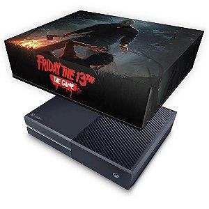 Xbox One Fat Capa Anti Poeira - Friday the 13th The game - Sexta-Feira 13
