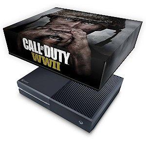 Xbox One Fat Capa Anti Poeira - Call of Duty WW2