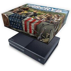 Xbox One Fat Capa Anti Poeira - Far Cry 5