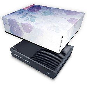 Xbox One Fat Capa Anti Poeira - Folhas Lilás