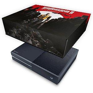 Xbox One Fat Capa Anti Poeira - Wolfenstein 2 New Order