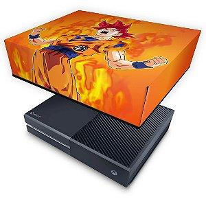 Xbox One Fat Capa Anti Poeira - Dragon Ball Super Goku