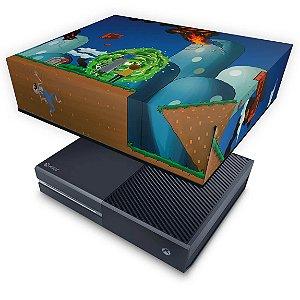 Xbox One Fat Capa Anti Poeira - Rick And Morty Mario