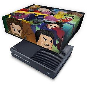 Xbox One Fat Capa Anti Poeira - Lego Avengers Vingadores