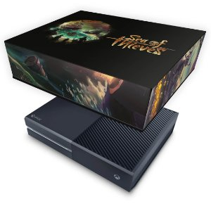 Xbox One Fat Capa Anti Poeira - Sea Of Thieves