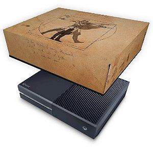 Xbox One Fat Capa Anti Poeira - Assassin's Creed Vitruviano
