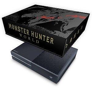 Xbox One Fat Capa Anti Poeira - Monster Hunter Edition