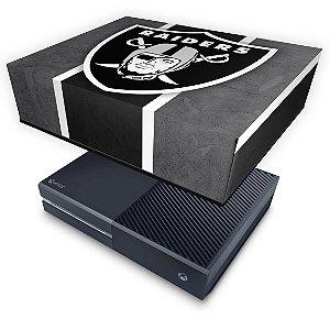 Xbox One Fat Capa Anti Poeira - Oakland Raiders NFL
