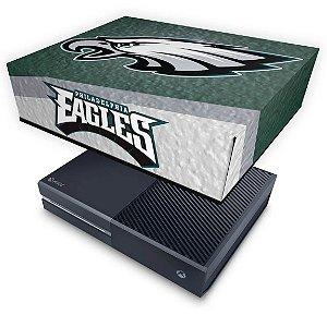 Xbox One Fat Capa Anti Poeira - Philadelphia Eagles NFL