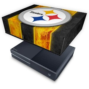 Xbox One Fat Capa Anti Poeira - Pittsburgh Steelers - NFL