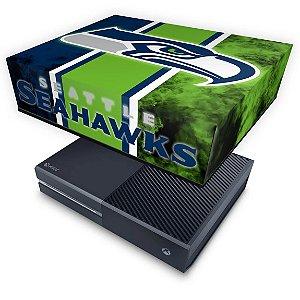 Xbox One Fat Capa Anti Poeira - Seattle Seahawks - NFL