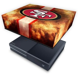 Xbox One Fat Capa Anti Poeira - San Francisco 49ers - NFL