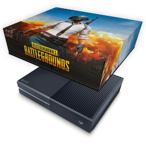 Xbox One Fat Capa Anti Poeira - Players Unknown Battlegrounds PUBG