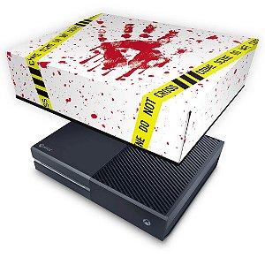 Xbox One Fat Capa Anti Poeira - Cena de Crime Scene