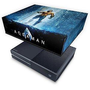 Xbox One Fat Capa Anti Poeira - Aquaman