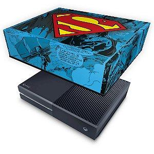 Xbox One Fat Capa Anti Poeira - Super Homem Superman Comics