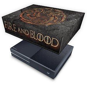 Xbox One Fat Capa Anti Poeira - Game of Thrones Targaryen