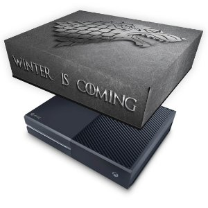 Xbox One Fat Capa Anti Poeira - Game Of Thrones Stark