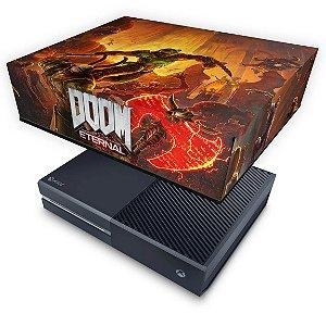 Xbox One Fat Capa Anti Poeira - Doom Eternal