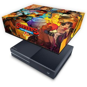 Xbox One Fat Capa Anti Poeira - Streets of Rage 4