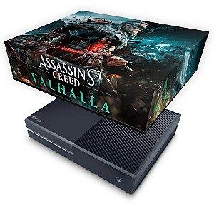 Xbox One Fat Capa Anti Poeira - Assassin's Creed Valhalla