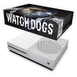Xbox One Slim Capa Anti Poeira - Watch Dogs