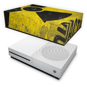 Xbox One Slim Capa Anti Poeira - Radioativo