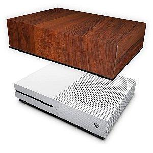 Xbox One Slim Capa Anti Poeira - Madeira