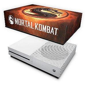Xbox One Slim Capa Anti Poeira - Mortal Kombat