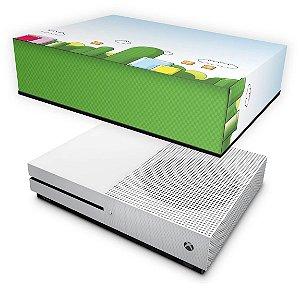 Xbox One Slim Capa Anti Poeira - Super Mario