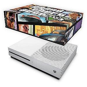 Xbox One Slim Capa Anti Poeira - GTA V