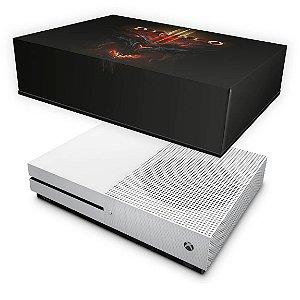 Xbox One Slim Capa Anti Poeira - Diablo