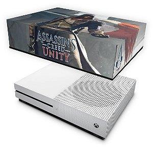 Xbox One Slim Capa Anti Poeira - Assassins Creed Unity