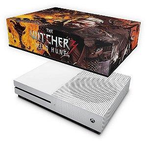 Xbox One Slim Capa Anti Poeira - The Witcher 3 #B