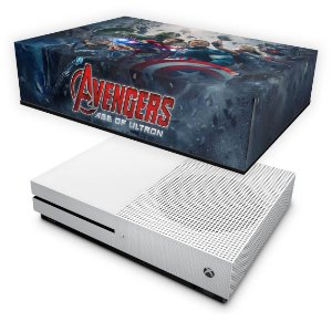 Xbox One Slim Capa Anti Poeira - Avengers - Age of Ultron