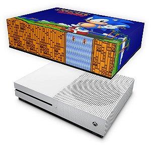 Xbox One Slim Capa Anti Poeira - Sonic The Hedgehog