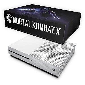 Xbox One Slim Capa Anti Poeira - Mortal Kombat X - Subzero