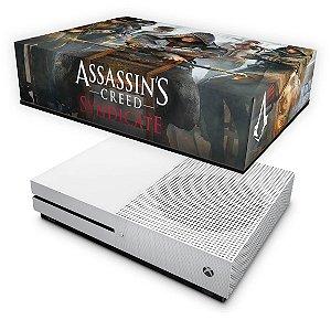 Xbox One Slim Capa Anti Poeira - Assassin's Creed Syndicate