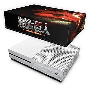 Xbox One Slim Capa Anti Poeira - Attack on Titan #B