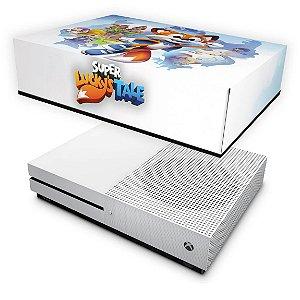 Xbox One Slim Capa Anti Poeira - Super Lucky's Tale